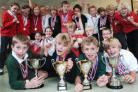 Sports awards for pupils