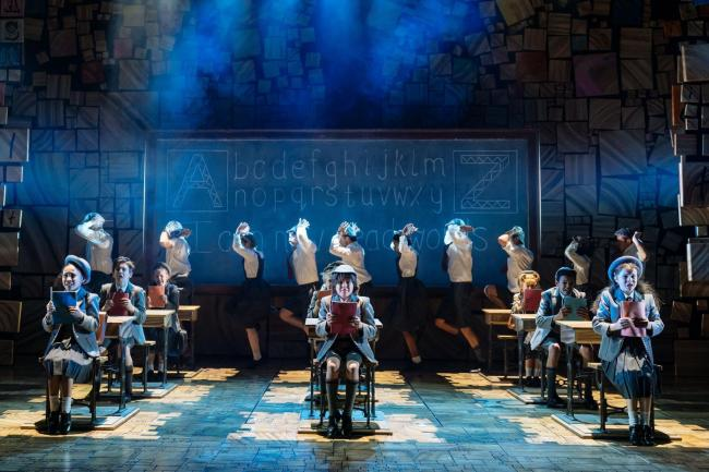 POPULAR CHOICE: A scene from Matilda the Musical